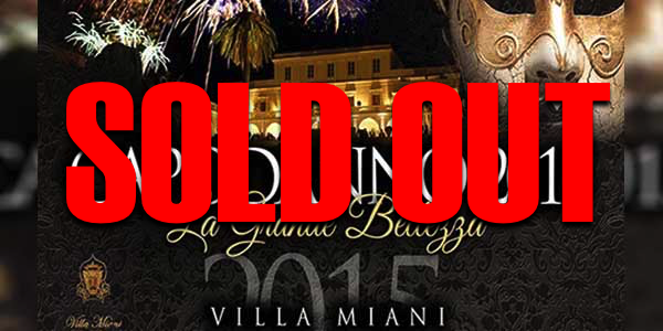 capodanno roma 2015 Villa MIani roma