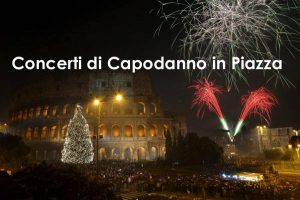 concerto piazza capodanno roma