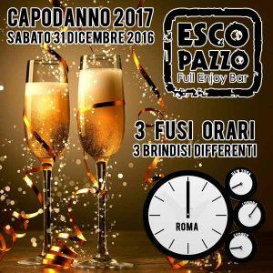 Escopazzo Capodanno Roma 2017