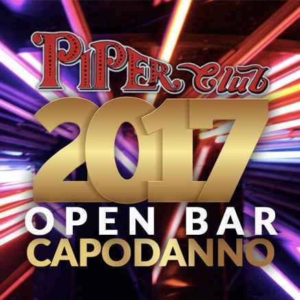 piper club capodanno 2017