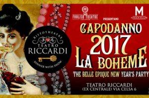 Capodanno 2017 Teatro Riccardi Roma