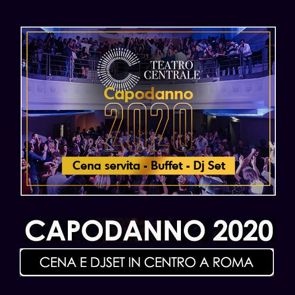 capodanno 2020 teatro centrale roma centro
