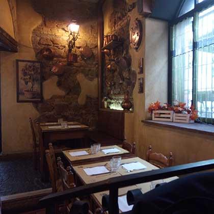 ristorante incontrada
