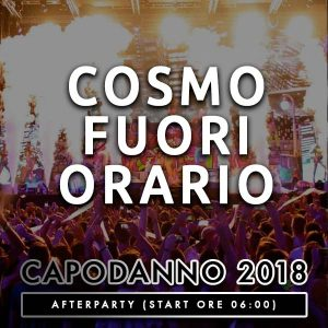 FuoriOrario After Party Cosmo