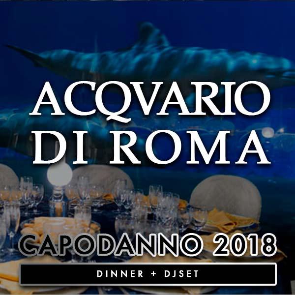 capodanno 2019 acquario di roma