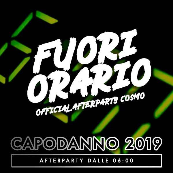 FUORI ORARIO CAPODANNO 2019