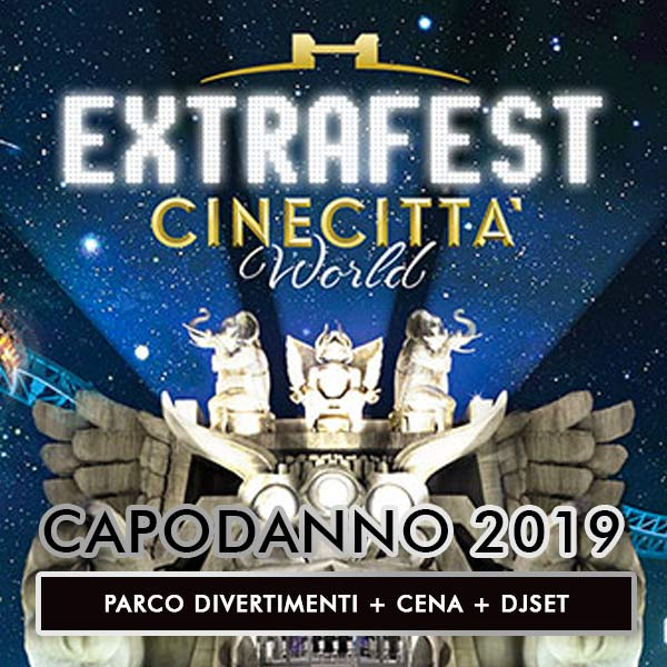 capodanno Cinecittà world extrafest