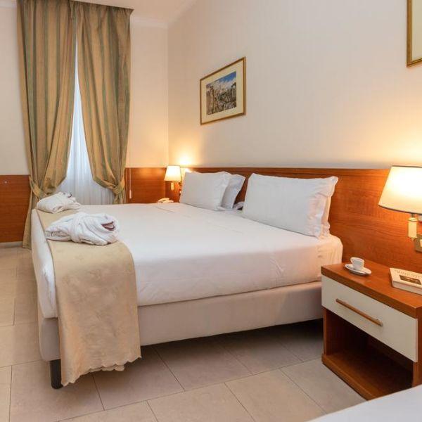 Capodanno Shg Hotel Porta Maggiore Roma camera