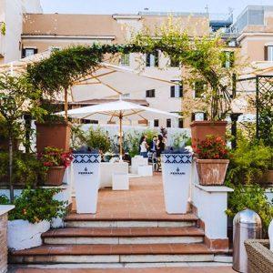shg hotel portamaggiore terrazza