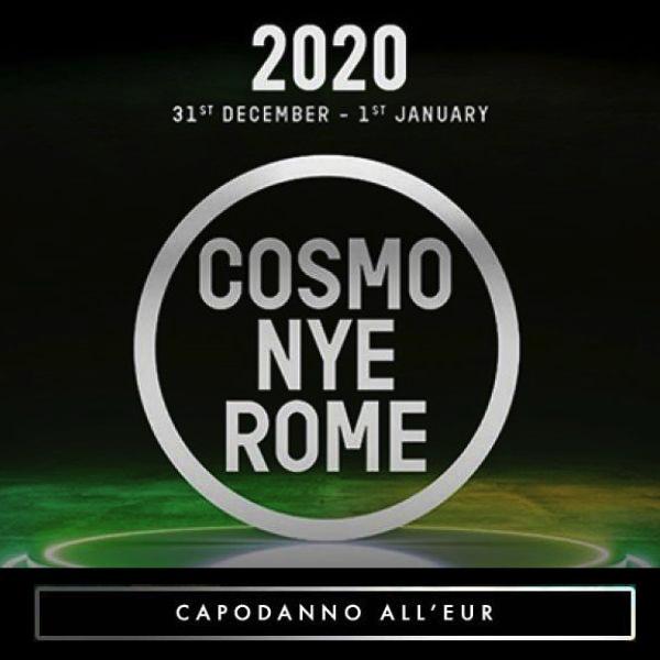 capodanno cosmo festival roma 2020