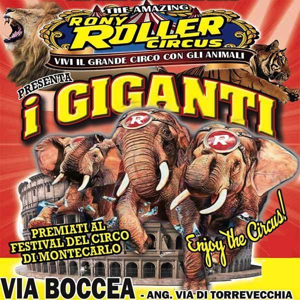 capodanno rony roller circus circo roma